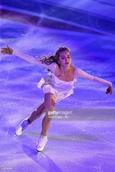 Elena Radionova of Russia skates during the Exhibition Gala on day three of the Rostelecom Cup ISU Grand Prix of Figure Skating 2015 at the Luzhniki Palace of Sports on November 22, 2015 in Moscow, Russia.