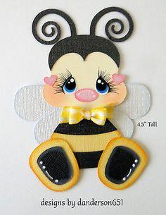 Bees Bugs Kids Paper Piecing PreMade 4 Border Scrapbook Album danderson651