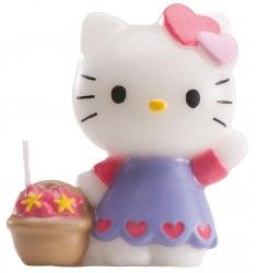 Bougie Hello Kitty Anniversaire Hello Kitty, Decoration, Disposable Tableware, Candle, Decor, Decorations, Decorating, Dekoration, Ornament