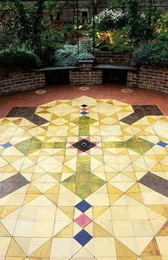 Broxmore garden; Hampshire, England. Design: Pamela Woods