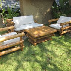 Furniture Bamboo Sofa