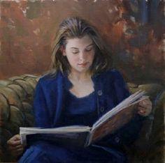 Reading and Art: Steve Moppert