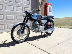 1966 Honda CB160 restoration nearly complete
