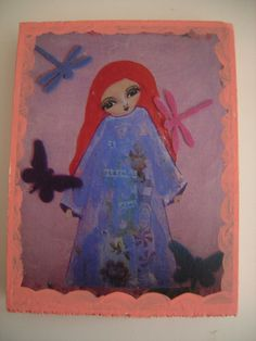 A Peaceful Soul Giclee Reproduction Mounted On Wood by eltsamp, $28.00