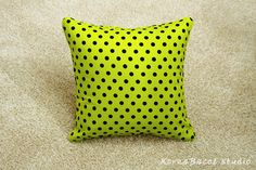 Pillow Pillow Cover Cushion Cover 16x16 20x20 Dot by KoreaBacol
