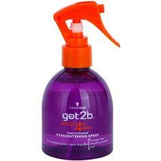 Schwarzkopf got2b Straight on 4 Days Heat Activated Straightening Spray 200ml 6.76 fl oz