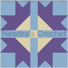 Looking for your next project? You're going to love Four Corner Flower Quilt Block graph by designer Needra.