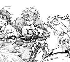 【刀剣乱舞】クナイを箸で受け止める長谷部 ※審神者注意【とある審神者】 : とうらぶ速報~刀剣乱舞まとめブログ~ Comic Style Art, Ninja Art, Manga Books, Japanese Cartoon, Touken Ranbu, Cartoon Art, All Art, Art Sketches, Anime Guys