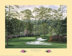 The 15th Hole, 'Firethorn', Augusta National Golf Club #LindaHartough