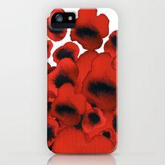Poppies iPhone & iPod Case by Marina Kanavaki - $35.00