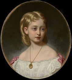 George Koberwein (1820-76) - Princess Victoria of Wales (1868-1935)
