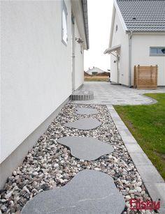 backyard designs – Gardening Ideas, Tips & Techniques Backyard Garden Design, Yard Design, Lawn And Garden, Side Yard Landscaping, Outdoor Landscaping, House Landscape, Landscape Design, Outdoor Living Rooms, Pool Equipment