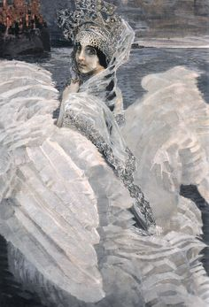 Mikhail Vrubel: The Swan Princess (1900)
