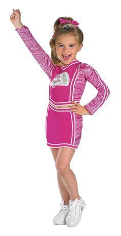cheer costumes for girls | Barbie Varsity Cheerleader Costume - Barbie Costumes