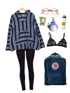 how 2 wear drug rugs by aliennbby on Polyvore featuring Fjällräven, women's clothing, women's fashion, women, female, woman, misses and juniors
