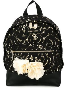 Twin-Set lace backpack