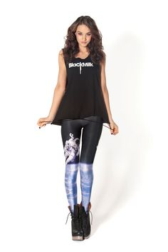I just ordered these Spaceman Leggings by Black Milk Clothing! They're supposed to be for aerial hoop & yoga, but I might have to reserve them for everyday wear!