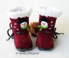 Making Ideas, Etsy, Winter, Fun, Shoes, Fashion, Boots, Manualidades, Wrist Warmers