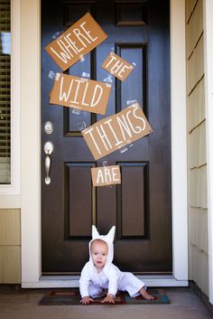 My son's first birthday. Where the Wild Things Are.