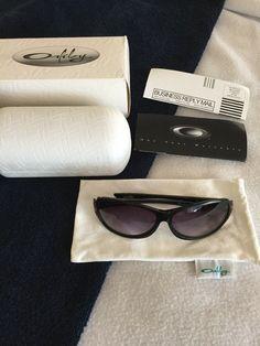 fd30609f1 OAKLEY BELONG Sunglasses Original Box Case Soft Bag Gray Replacement Lenses  #fashion #clothing #