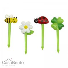 Bees and Ladybirds Bento Picks