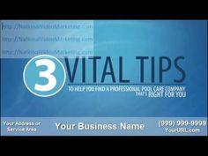 Pool Cleaning Video Marketing|Internet Ad|Orlando FL