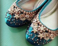 Slipper Bridal Ballet Flats scarpe da di Cinderella sposa