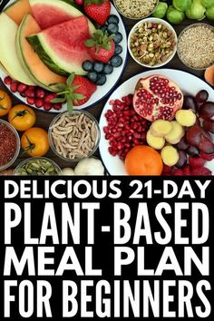 Plant Based Diet Meal Plan for Beginners: Kickstart Guide! - - Plant Based Diet Meal Plan for Beginners: Kickstart Guide! Plant Based Diet Meals, Plant Based Meal Planning, Plant Based Eating, Plant Based Recipes, Raw Food Recipes, Diet Recipes, Healthy Recipes, Chili Recipes, Curry Recipes