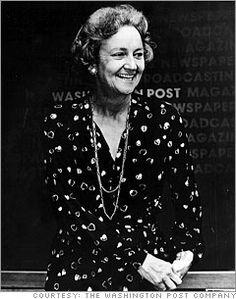 Katharine Graham ~ Editor & President of the Washington Post