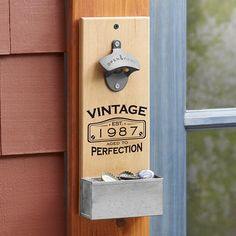 Classic Vintage Wall Bottle Opener