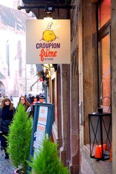 Croupion qui fume - Restaurant in Straßburg
