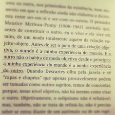 O outro. Franklin Leopoldo e Silva(via Gabriela Pires Machado)