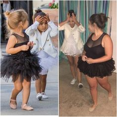 North West and Penelope Disik Halloween costume for girls ...