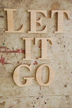 let it go-letters