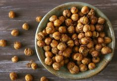 spice roasted chick peas - another must try