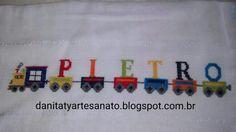 Encomenda pronta! Cross Stitch Embroidery