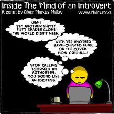 #authoress #author #writer #selfpublished #comics #cartoons #memes #funny #introvert #books