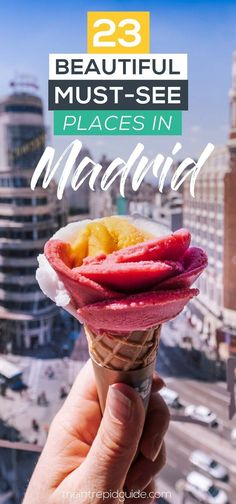 23 Beautiful MUST-SEE Places in Madrid With so many museums to visit and wonders to see, choosing what to do in Madrid can be very overwhelming! Here are 23 must-see places in Madrid. Europe Travel Tips, Spain Travel, European Travel, Travel Guide, European Vacation, Budget Travel, Travel Ideas, Travel Inspiration, Travel Destinations