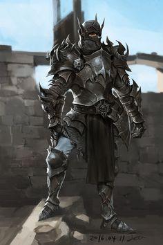 Black Armour, Jera Y on ArtStation at https://www.artstation.com/artwork/oWNyq