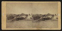 Interior of Fort Gregg [i.e. Fort Putnam], Folly [i.e. Morris] Island, S.C.