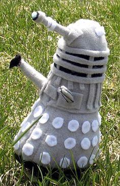 Felt Dalek plushie   @Sheila Abbott   @Abby Abbott