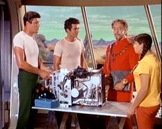 Lost In Space Penny Episodes | John , Don , Sesmar and Penny in the Jupiter 2