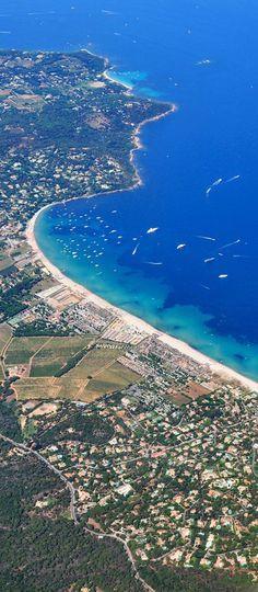 Pampelonne Bay, Saint Tropez, France