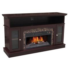 Electric Fireplace Media Unit