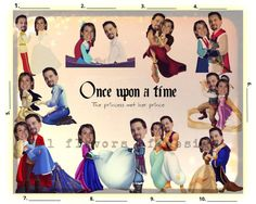 Bridal Shower Game Once upon a time Custom by 31Flavorsofdesign