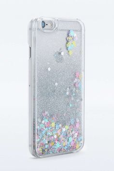 Water Glitter iPhone 6 Case Urban Outfitters - Iphone Plus Glitter Case - Iphone Plus Glitter Case ideas - Iphone 7 Plus, Iphone 8, Coque Iphone 6, Apple Iphone, Water Phone Cases, Ipod Cases, Cool Phone Cases, Phone Covers, Diy Iphone Case