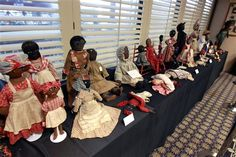 Interesting info on black cloth dolls and great links
