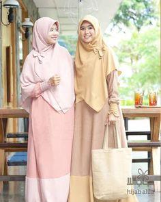 Muslim Fashion, Hijab Fashion, Women's Fashion, Abaya Style, Batik Dress, Hijabs, Kebaya, Hana, Outfits