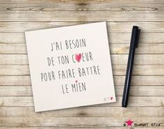 Citation d amour