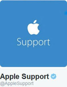 Apple Customer Support will now help you via Twitter A dedicated customer service account will try to assist you directly as well as offer tips and tricks on Apple products and services.